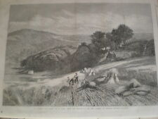 A Surrey Corn-field from V Cole 1861 old print