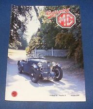 ENJOYING MG AUGUST 1990 VOLUME 10 NUMBER 8 - JARVIS BODIED MG F TYPE MAGNA
