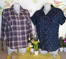 """Lot vêtements occasion femme... Hauts / Chemises """" H&M - Redoute """" ... T : 46"""