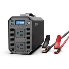 New listing Bestek 1200W Power Inverter Dc 12V to 110V Ac Converter with Digital Lcd Display