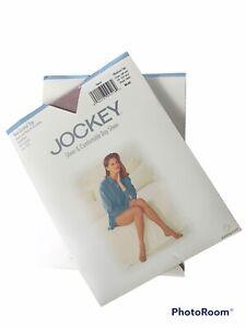 Jockey Pantyhose Non Control Top Medium Tall Style 1950 LOT 2 Pairs