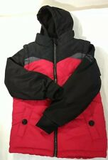 Pacific Trail Children's Large Size 7 Red/Black Winter Jacket