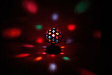 5 Couleur DJ Party Club Party ROTATIF BOULE DISCO LUMIÈRE autoportante