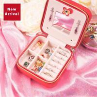 Anime Sailor Moon Tsukino Usagi Lovely Jewelry Boxes Portable Christmas Limited