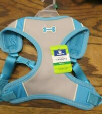 """New! Top Paw Comfort Harness - Large - Girth 28""""-32""""  Blue/Grey (7861)"""