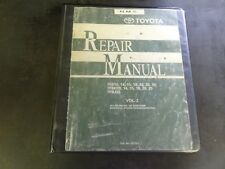 Toyota 7FB10 7FB14 7FB15 7FB18 7FB20 7FB25 7FBH10 7FBJ35 Repair Manual  Vol. 2