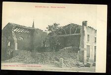 France, WWI, Maison Bombardee, Mecrin (Meuse), (pre-20(militaryJ#4