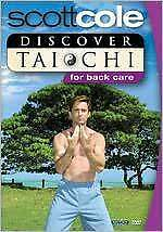 DISCOVER TAI CHI FOR BACK CARE GENTLE WORKOUT (Scott Cole) - DVD - Region Free