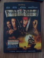 Pirates of the Caribbean - The Curse of the Black Pearl  DVD Johnny Depp, Geoffr