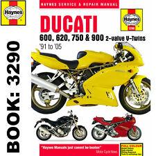 Ducati 600 620 750 and 900 Haynes Manual