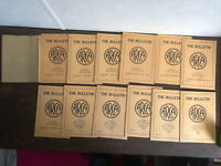 1943-1944 Association of Railway Claim Agents The Bulletin Vol. 28 No. 1-12