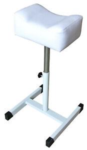 Beauty Salon Pedicure Leg Stand - White