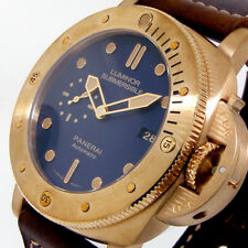 PANERAI PAM 671 BRONZO LUMINOR SUBMERSIBLE 47 mm 1950 3 DAYS BRONZE PAM 00671