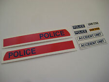 Dinky 272 - Police Bedford Van Stickers - B2G1F