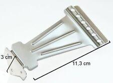 6 Schnur-Chrom-Zink-Legierung Bent Tailpiece für Dobro-Resonator-Echo-Gitarre