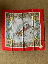 GUCCI Vintage 1960's silk scarf Signed V. Accornero