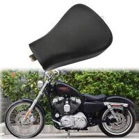Schwarz Solo Sitz Sitzbank Sitzkissen Sattel für Harley Sportster Forty Eight XL