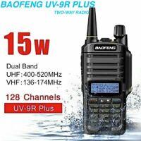 Baofeng UV-9R Plus 15W VHF/UHF Walkie Talkie Dual-Band Ham HandheldTwo-way Radio