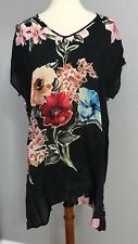 NWT Johnny Was Cambria Blouse Tunic Top Shirt M
