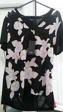 Hermoso Top Floral Paul nuevo con etiquetas. trabajo, Smith vacaciones, Smart, Casual, Día/noche.