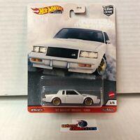'87 Buick Regal GNX * 2020 Hot Wheels POWER TRIP Car Culture * T35