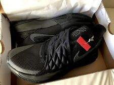 51e76948b8b Mens Nike Kyrie 4 Low Basketball Shoes Trainers Black Anthracite Size 9.5