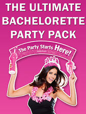 The Ultimate Bachelorette Party Pack - Hens Night Fun - Bachelorette Party