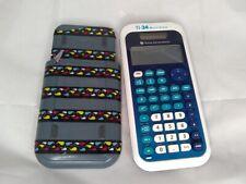 Texas Instruments TI-34 MultiView Scientific Math Calculator WORKS FREE SHIP