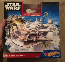 Hot Wheels Star Wars Both Echo Base Battle Die-Cast Snowspeeder