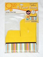 """WELCOME LITTLE ONE BABY SHOWER 8-FAVOR BOXES-2 1/4""""X2 1/4""""  -   PARTY SUPPLIES"""