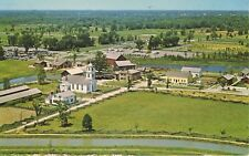 Aerial View Of Upper Canada Village On Ontario Cook's Tavern Vintage Postcard D6