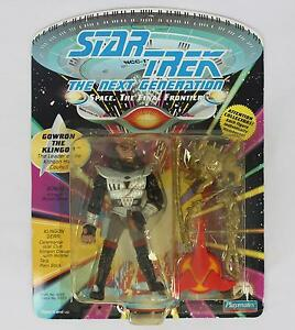 Playmates 1992 6053 Star Trek The Next Generation Gowron The Klingon NEW NIP