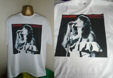 LINDA RONSTADT- STANDING ROOM ONLY 1980  ART PRINT T SHIRT -WHITE EXTRA LARGE