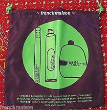 eau de toilette French Travel Makeup Cosmetics Gym Bag