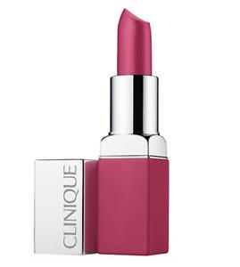 Clinique Pop Matte Lip Colour + Primer Lipstick (06 Rose Pop) .13 oz BOXED FRESH