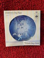 Barnets Dag Platte Childrens Day Plate 1985