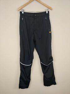 PEARL IZUMI Cycling Soft Shell Pants Mens Large Black Water Resistant Rain Bike