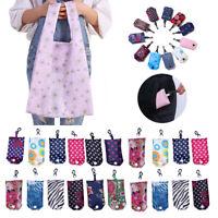 Womens Reusable Foldable Shopping Bag  Friendly Tote Handbag Fold Away Bag