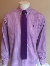 Ralph Lauren Mans shirt. bengal stripe button down collar 15,5