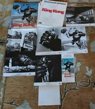 King Kong JESSICA LANG 1976 ORIGINAL MOVIE PRESS KIT