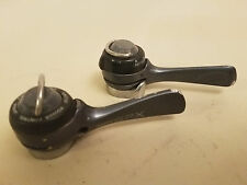 Vintage Suntour GPX  6 -7 Speed Accushift Downtube Shifters..Indexed or Friction