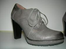 MARC O`POLO Damen Schuhe Plateau Pumps Leder Grau-Beige Gr.40 f.Neuw
