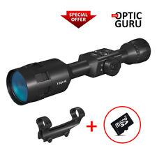 Fast Set: X-Sight 4K Pro 3-14x Smart Day/Night Rifle Scope + Atn Qdm + Sd Card