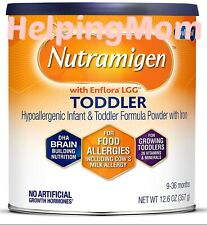 6 Enfamil Nutramigen toddler 12.6oz Cans