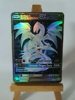 Cyber Blue Eyes w. Dragon and Cyber Dragon Proxy Custom Pokemon Card in Holo