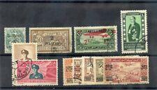 SYRIA Sc 15,7,C45,98,148-53,6(YT 15,7,A40,96[MI 572-7,83,5)F-VF USED 1919-49 $42