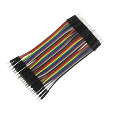 40pcs Dupont Cable 10cm Jumper Wire DIY Electronic for Arduino Pi breadboard AY1
