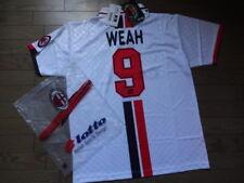 AC Milan #9 George Weah 100% Original Jersey Shirt XL 1995/96 Away Still NWT