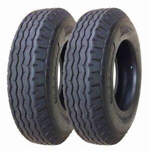 2 (Two) 8-14.5 ST New Trailer Tire 14 Ply Heavy Duty Loadmaxx Tubeless 14 PLY