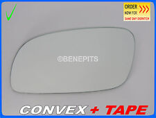 Wing Mirror Glass For VW TOURAN 2003-2010  CONVEX + STRONG TAPE Left Side/1029 5